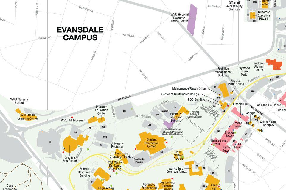 Evansdale  Housing  West Virginia University