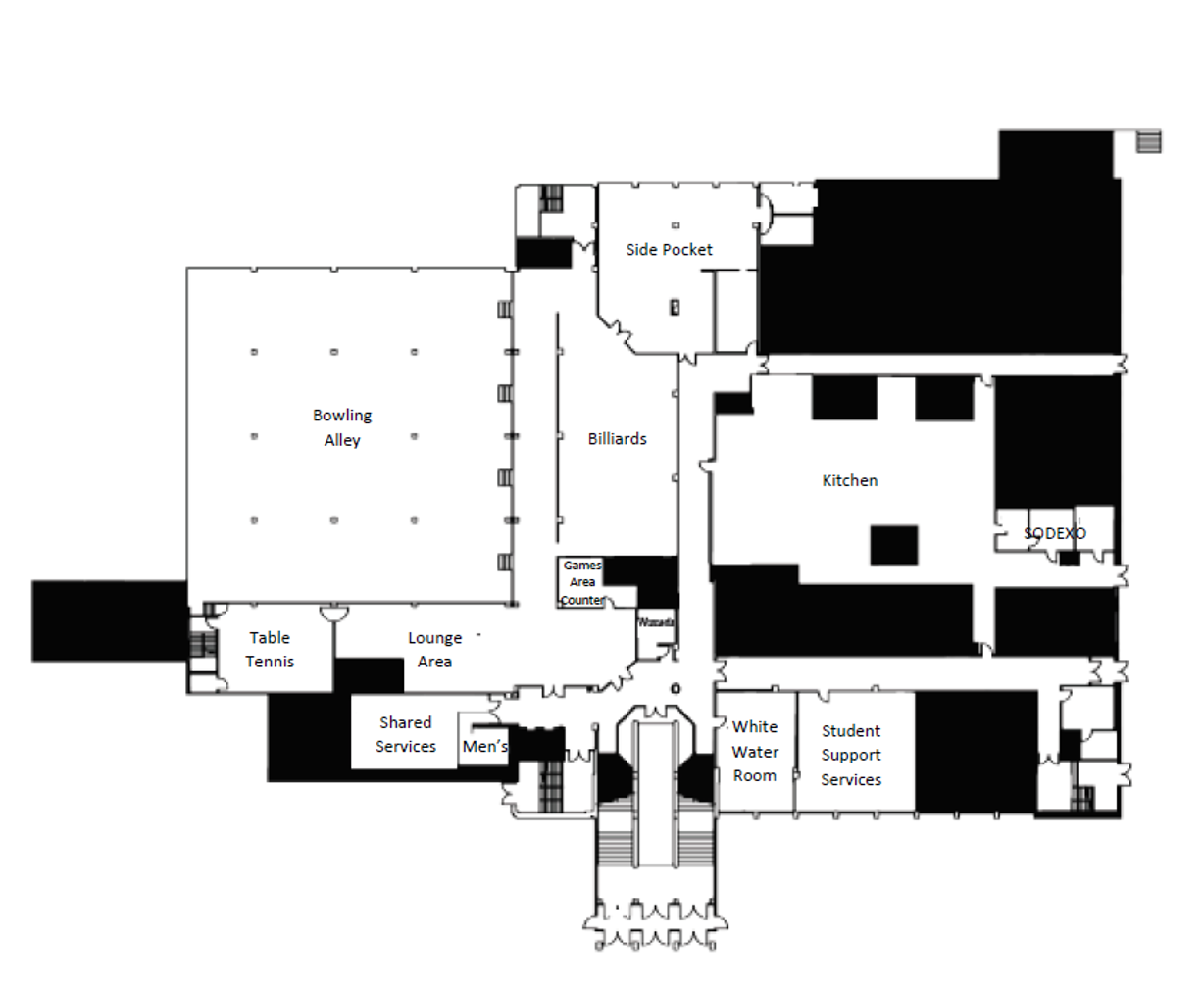 Mountainlair Ground Floor Map