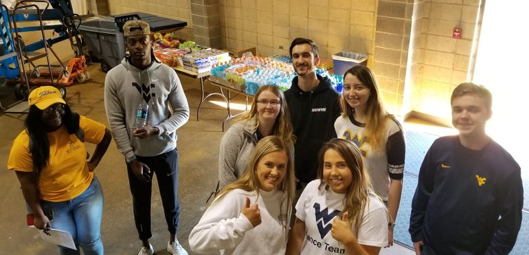 Student Advisory Committee at Student -Athlete Day of Service