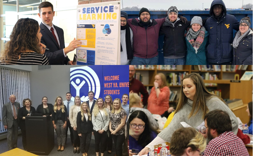 Spring 2019 Service-Learning Collage