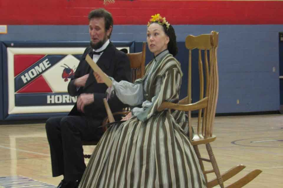 lincoln visit to wv