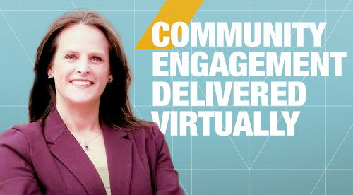 Community Engagement Delivered Virtually