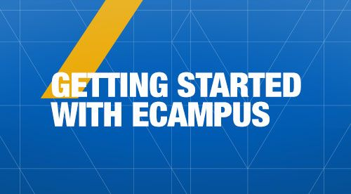 Getting Started with eCampus