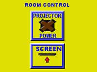 Image of Projector Power Screen