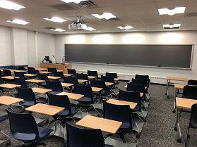 Engineering Sciences Building classroom G84 photo