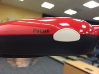 HD Document Camera's Focus Button