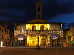 City Hall of San Giovanni at night