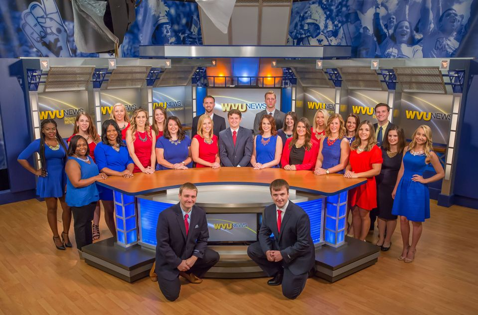 Photo of the cast of WVU News