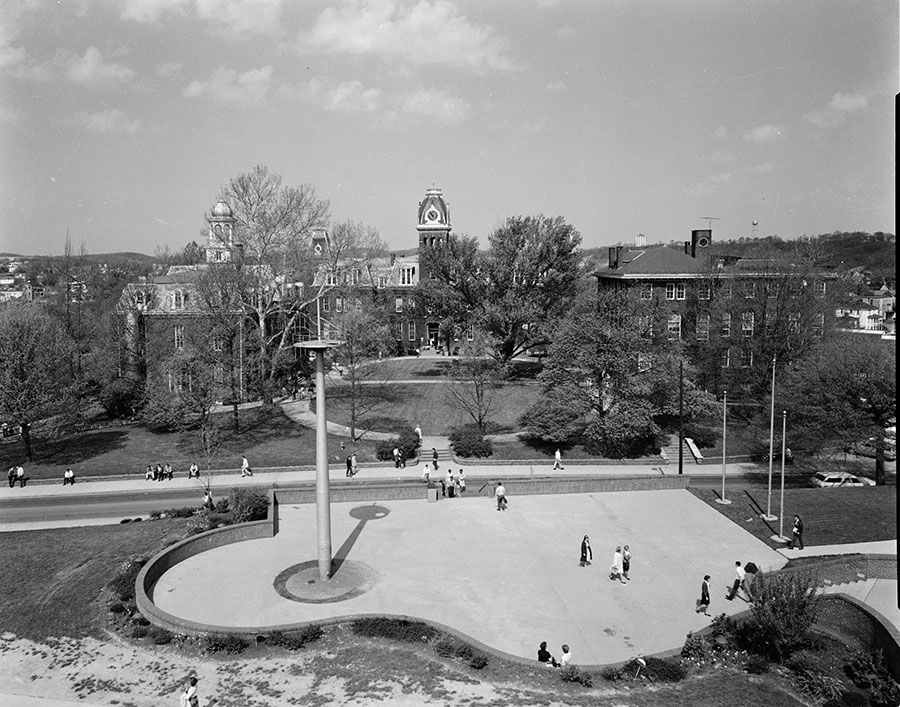 Woodburn Circle and Oglebay Plaza