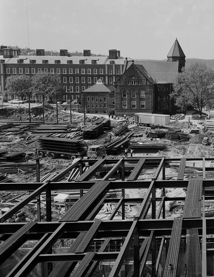 Constructing foundation of Mountainlair