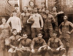 group photo of first football team