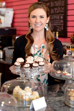 Anna Carrier is the owner of the Cupcakerie.