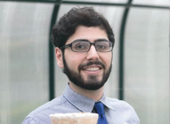 WVU Tech student Nima focuses on alternative uses of fungi.