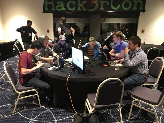 CyberWVU Team at HackerCon 2018