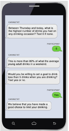 CarinTXT Texting Conversation Screenshot