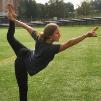 WELLWVU yoga instructor - Audrey