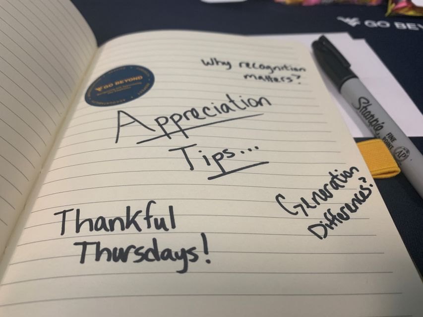 Handwritten Appreciation Tips/ Thankful Thursday