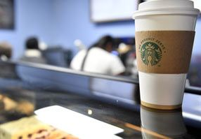 Tech Spot proudly brews Starbucks coffee