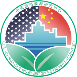 US-China Clean Energy Research Center logo (English and Chinese)