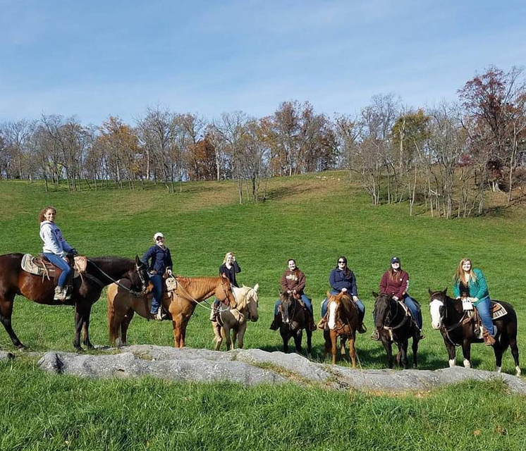 Trail Ride at Wagon Wheel Ranch