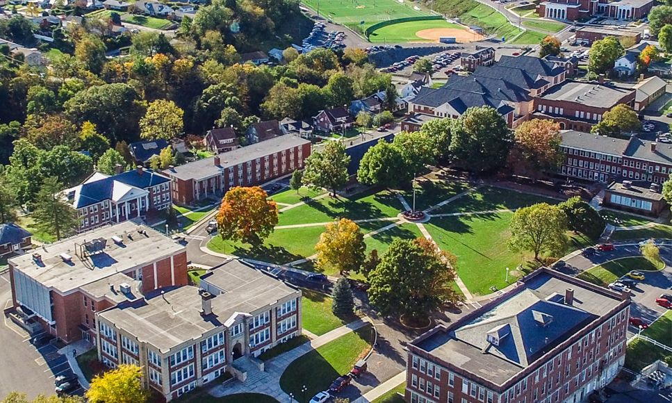 Aerial View of Potomac State Campus