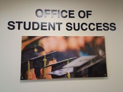 Photo of the office of student success.