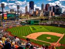 landscape photo of pittsburgh from PNC park