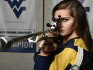 Photo of Morgan Phillips from the WVU Rifle Team Facebook.