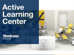 Rendering of Steelcase Education Active Learning Center.