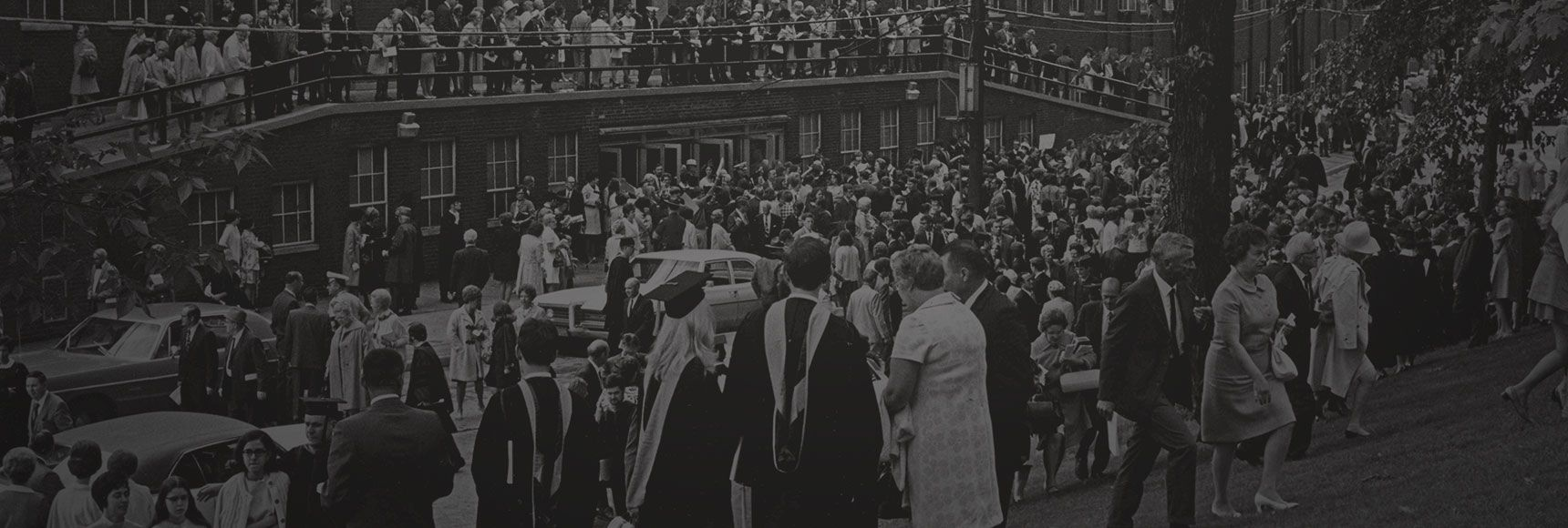 commencement in the 1960s