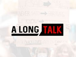 A Long Talk logo
