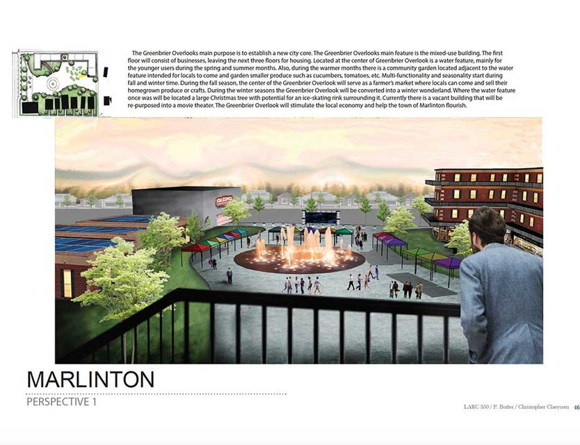 marlinton landscape architecture drawing