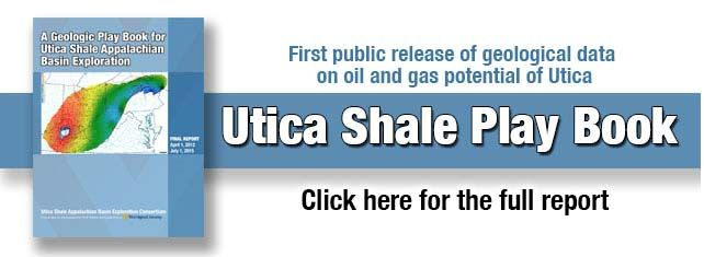 Cover page image of Utica Shale Play Book.