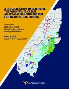 Cover Page Image of Appalachian storage hub for natural gas liquids