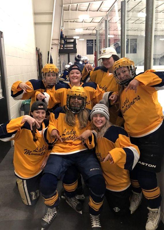 WVU women's hockey team making