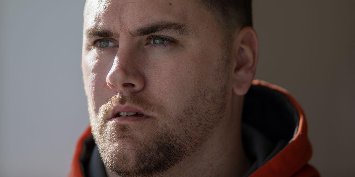 Closeup of Gerod Buckhalter.