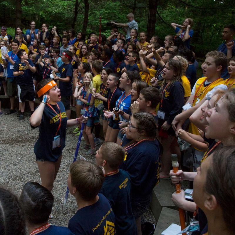 4-H camp circle