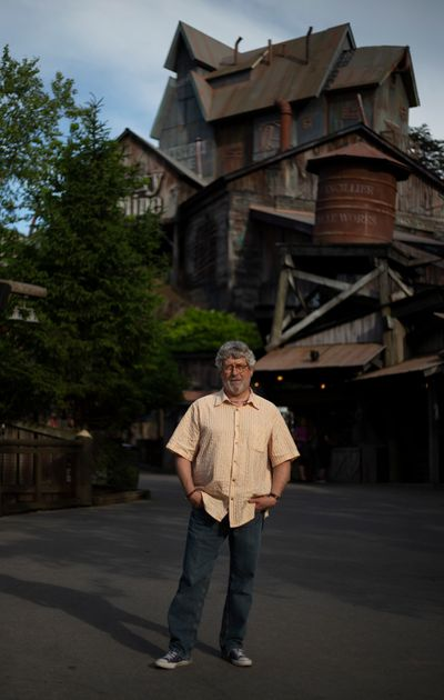 Bob Shreve at Dollywood