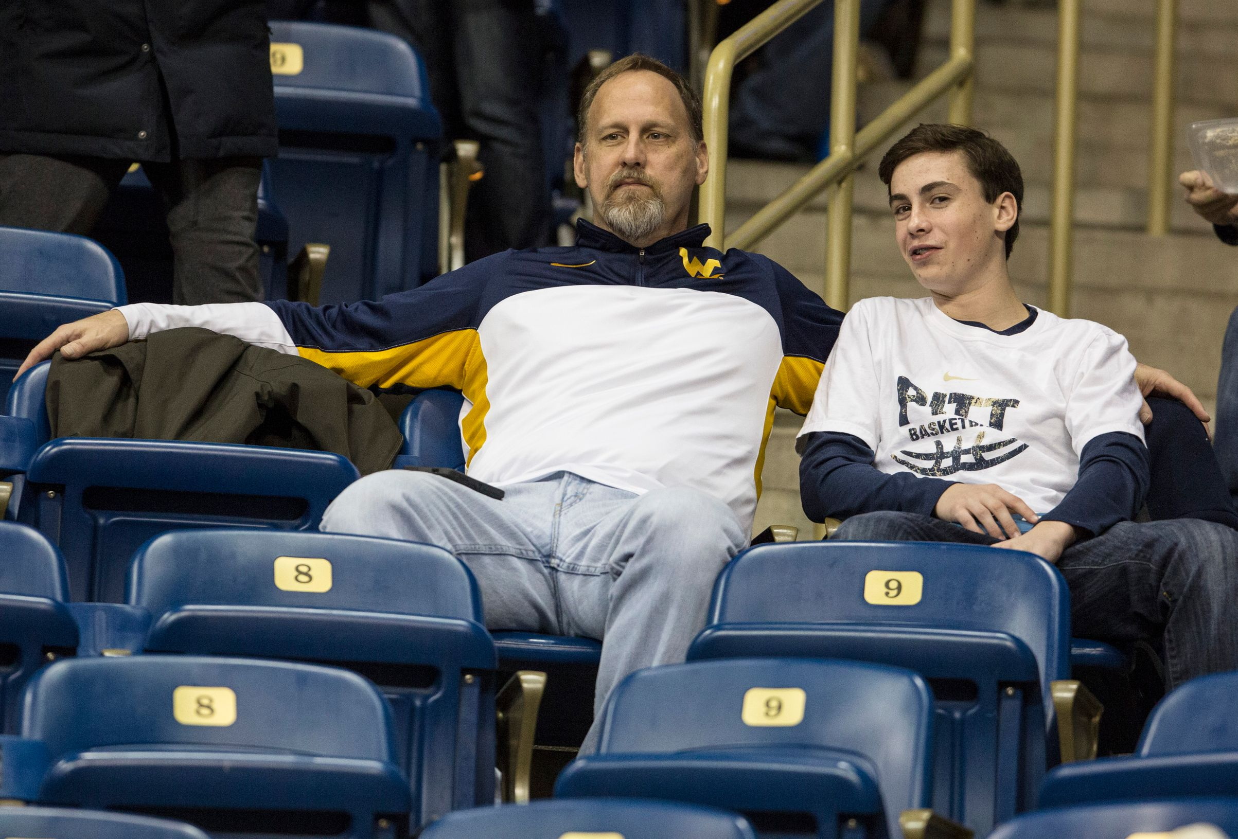 Pitt Game Father and Son