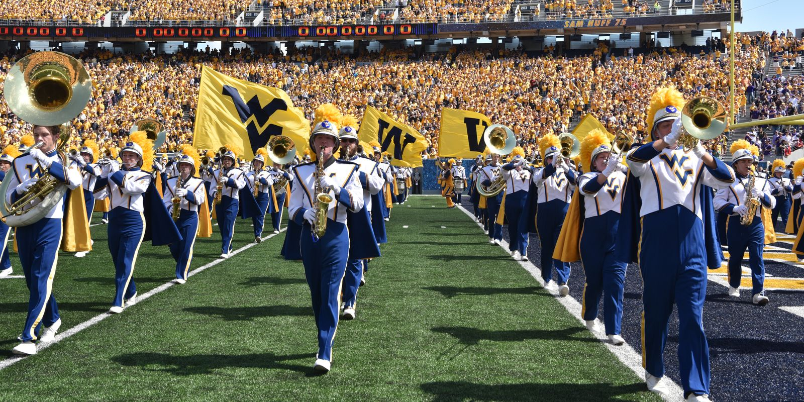 Time Outs and Short Ditties: WVU Marching Band Tunes (2018