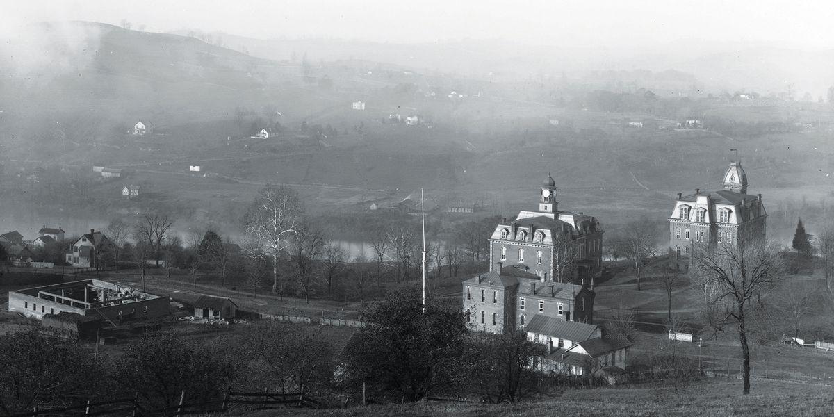 old wvu campus