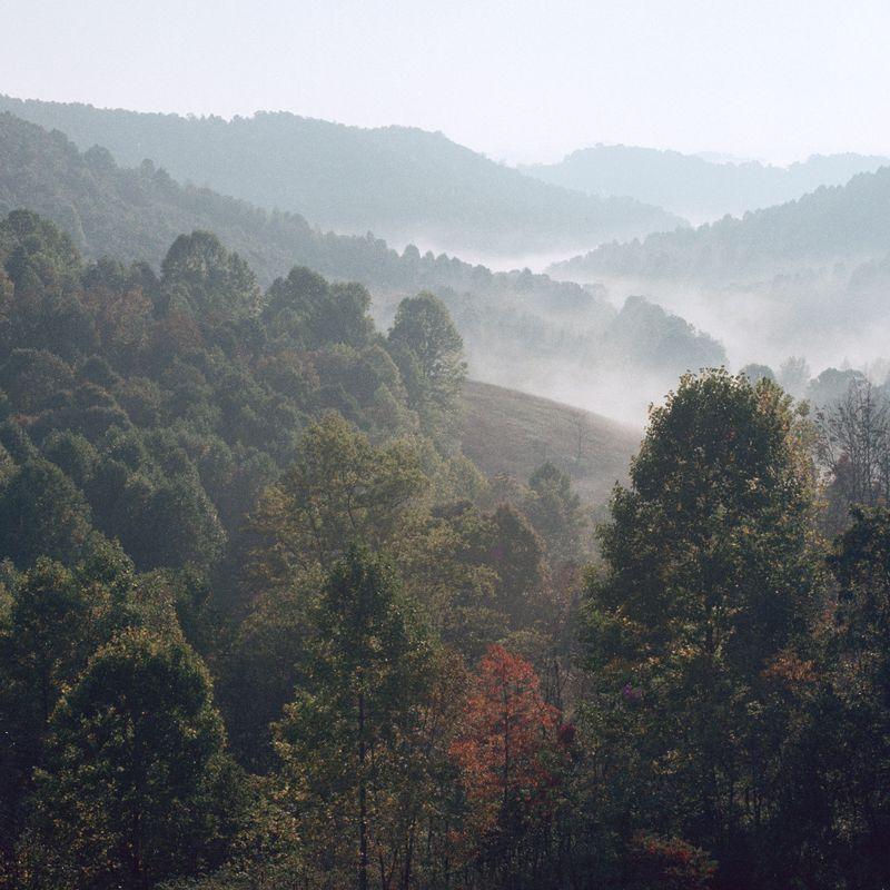 Hills at Spruce Knob.
