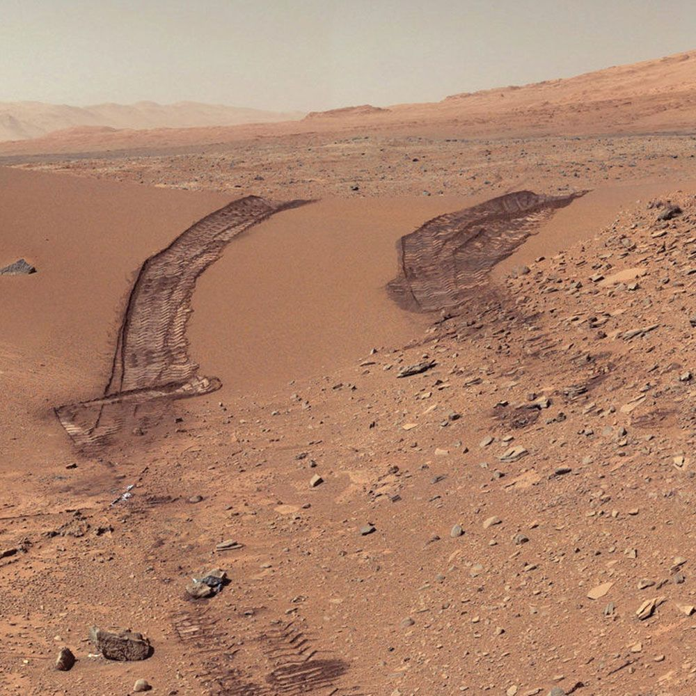Mars terrain.