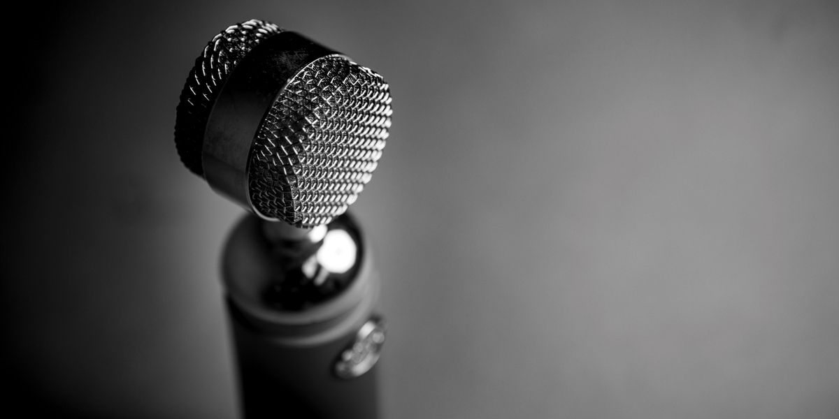 Photograph of a mic