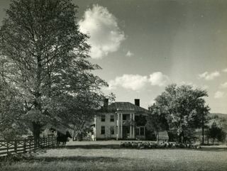 The Stulting family home, birthplace of Pearl S. Buck near Hillsboro, Pocahontas County, W. Va.
