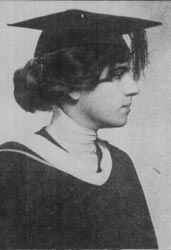 Buck in Randolph-Macon Woman's College yearbook in her senior year, 1914