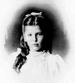 Pearl S. Buck as a young girl