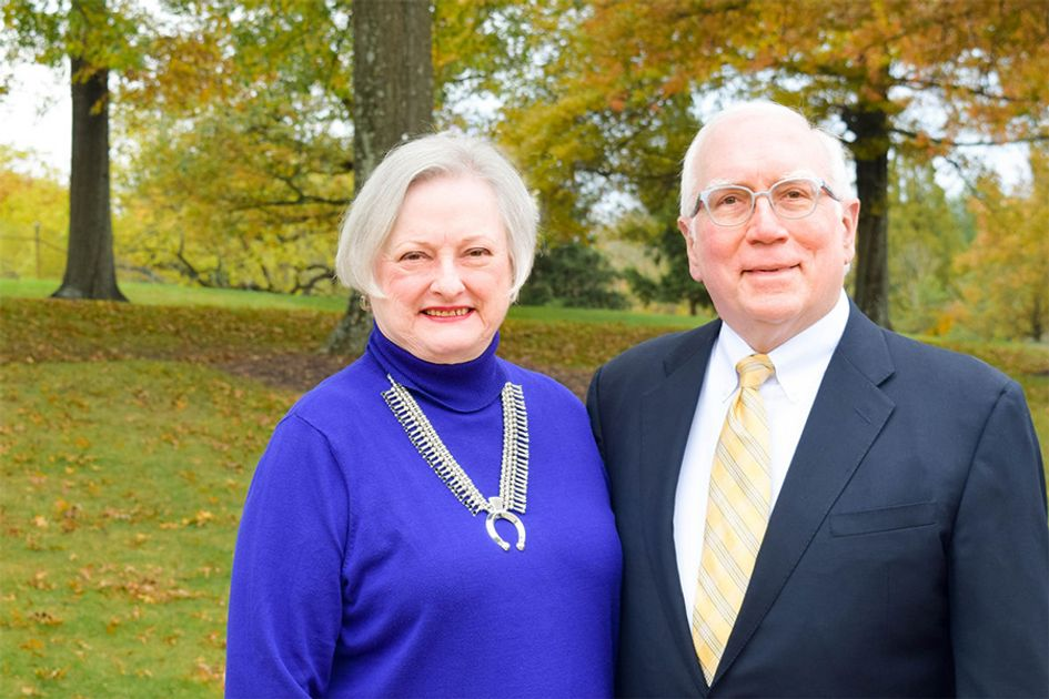 Grethe Myles and Tom Witt, former chief economist at WVU, have established the Tom S. Witt Scholars program.