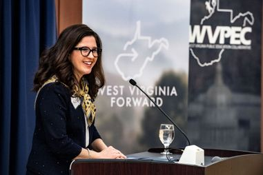 WV Forward Speaker shares findings on gender gaps in WV.