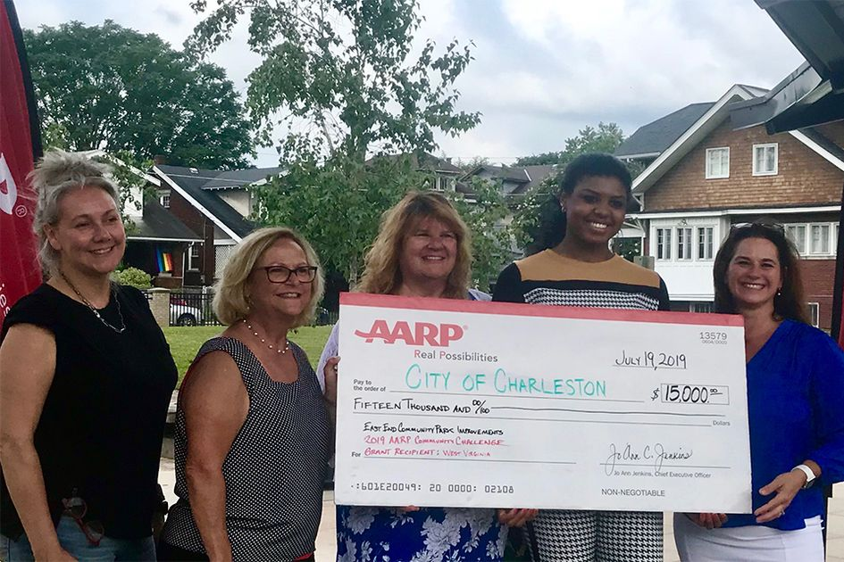 No thumbnail image for AARP Grant to support improvements to East End Community Park